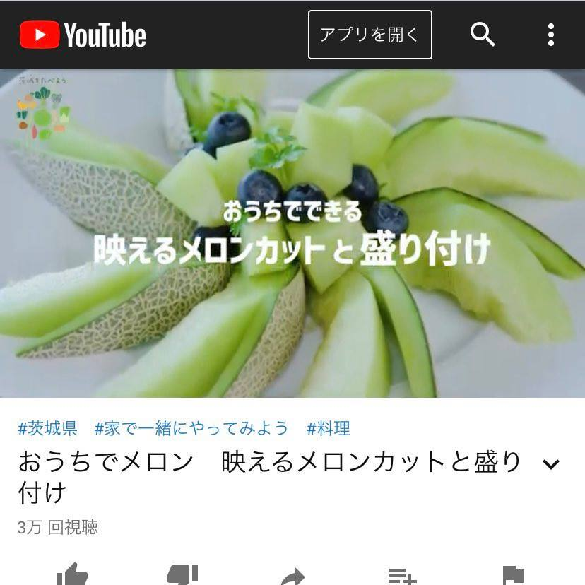 メロンカット動画1